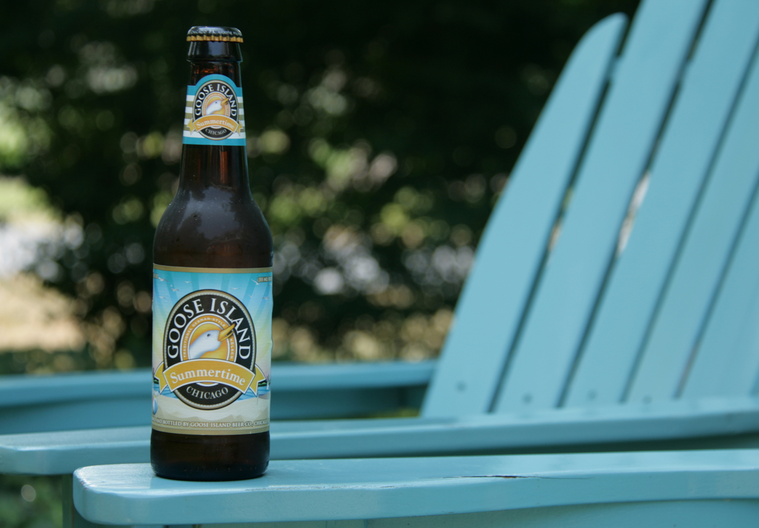 Drink a favorite craft Goose Island Summertime beer this season.