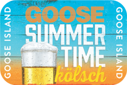 Goose Island Summertime beer is a clean drinking kolsch.