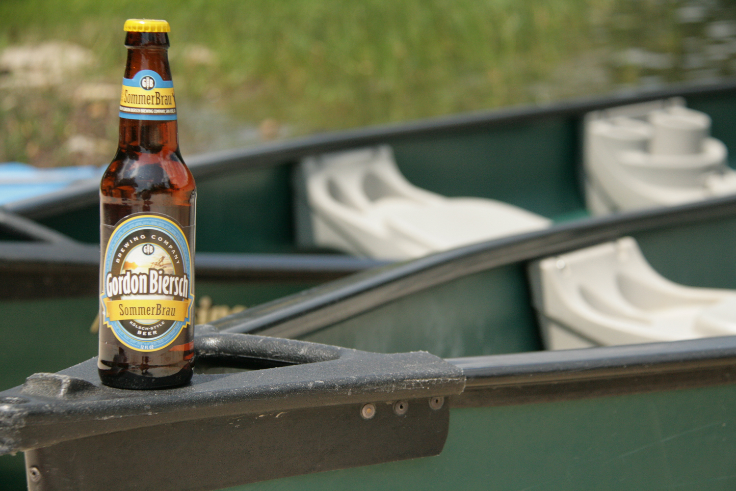 Enjoy SommerBrau, a Gordon Biersch summer beer.