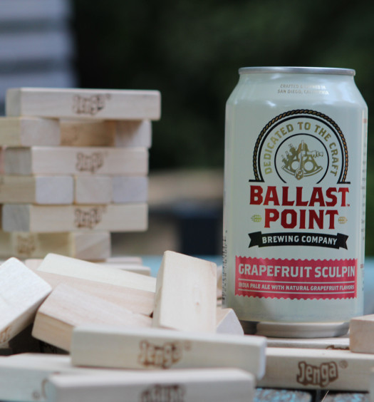 Ballast Point Grapefruit Sculpin is a favorite IPA summer beer.