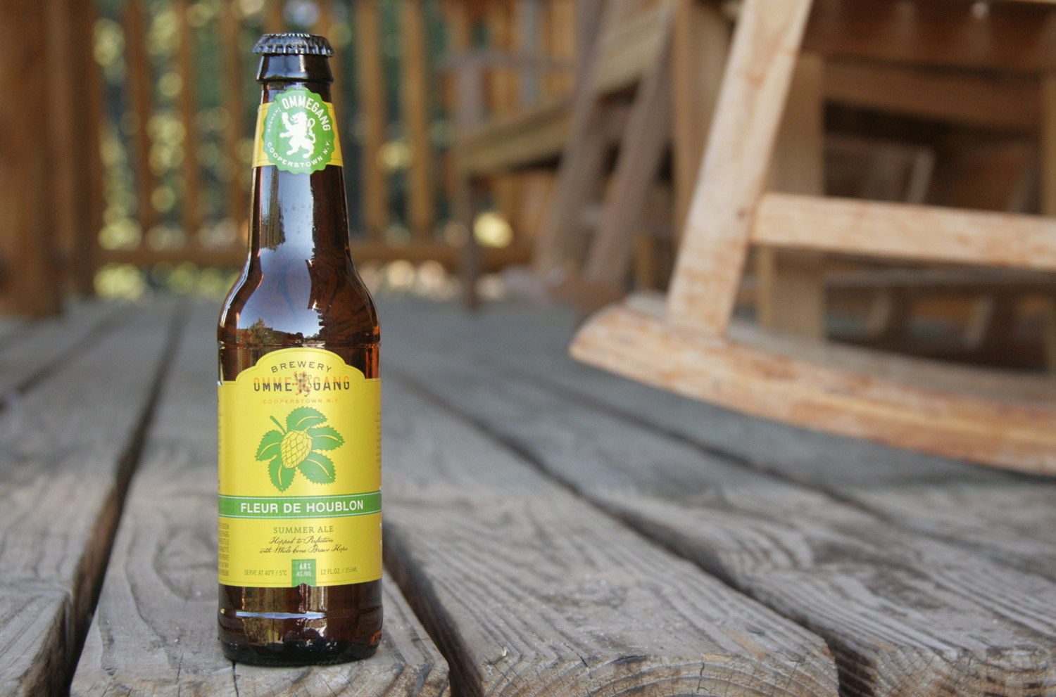 Ommegang Fleur De Houblon is a great summer beer for sipping.