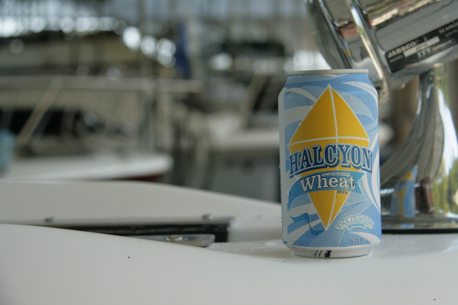 Halcyon from Tallgrass is an American pale wheat ale craft summer beer.