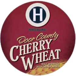 Wheat Cherry summer beer from Hinterland .