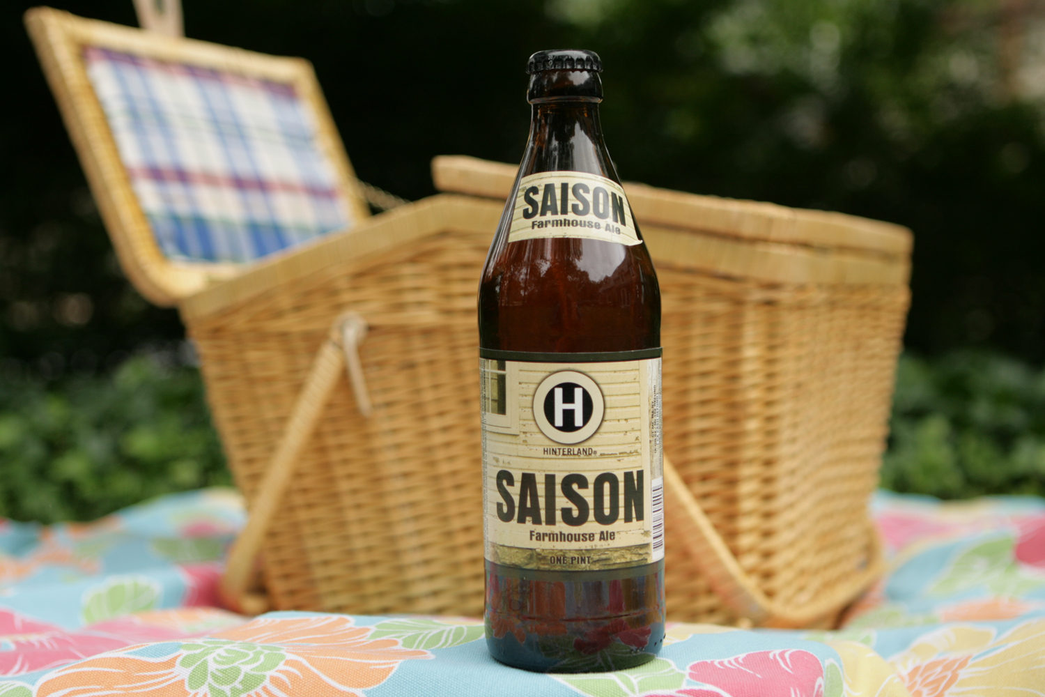 Hinterland Saison is the perfect picnic summer Wisconsin beer.