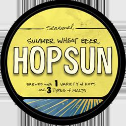 Southern Tier Hop Sun summer seasonal beer.
