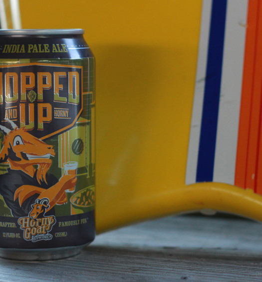 Hopped Up summer beer is great for the lake.