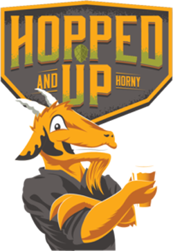 Hopped Up 'N Horny is a great summer India Pale Ale.