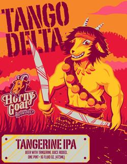 Horny Goat Tango Delta tangerine summer beer.
