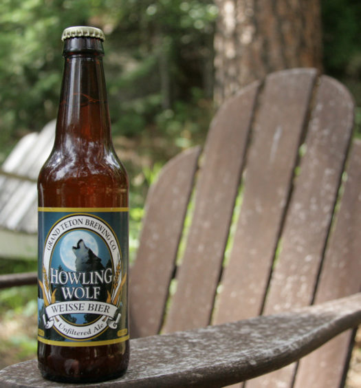 Grand Teton's Howling Wolf limited release seasonal summer bier.