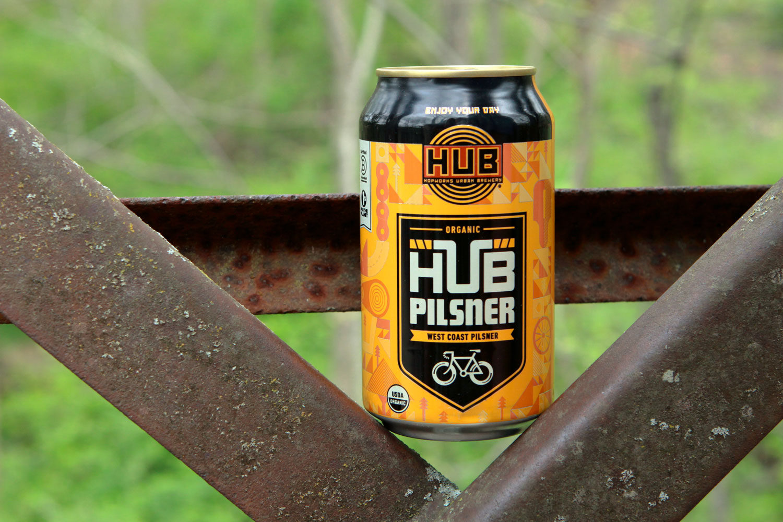 HUB Organic Pilsner is a great summer beer.