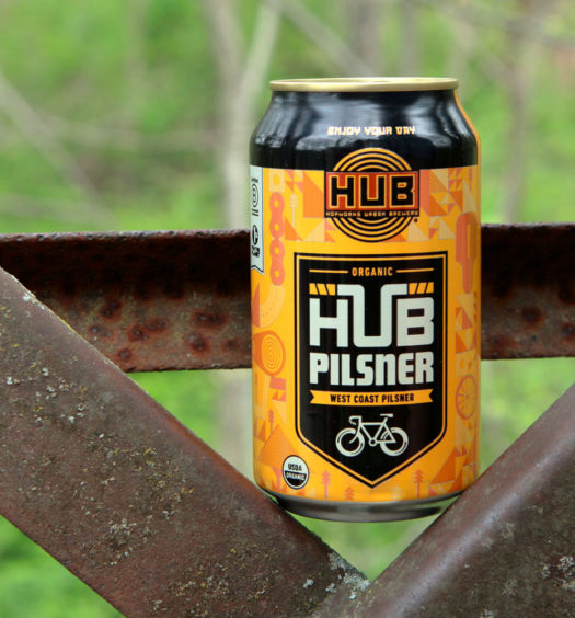 HUB Organic Pilsner is a great summer beer.