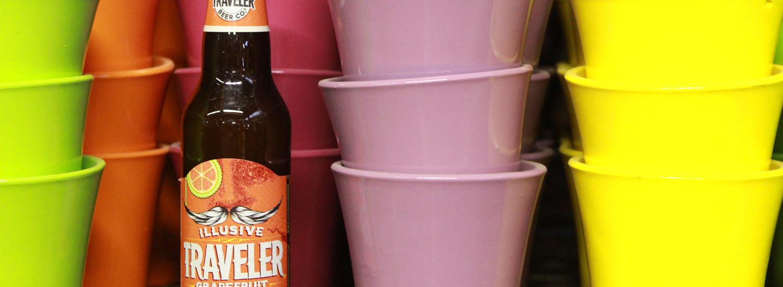 Illusive Traveler summer grapefruit shandy is an American blonde ale.
