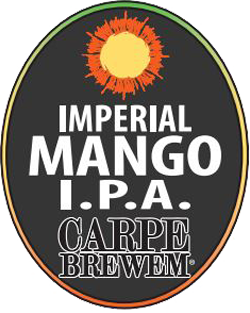 Imperial Mango IPA summer limited release beer is delicious.
