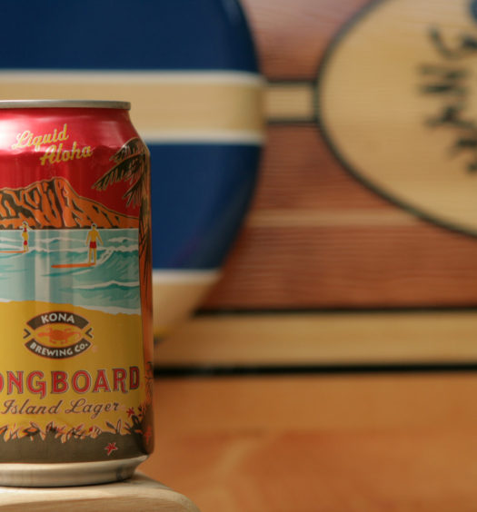 Order Longboard summer island lager from Hawaii.