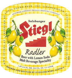 Summer Stiegl radler is one of the best refreshers of the season.