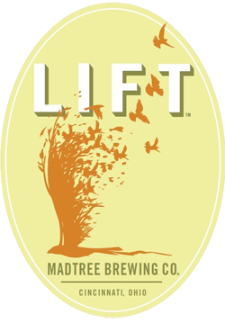 Lift from Madtree Brewing is a Ohio summer beer.