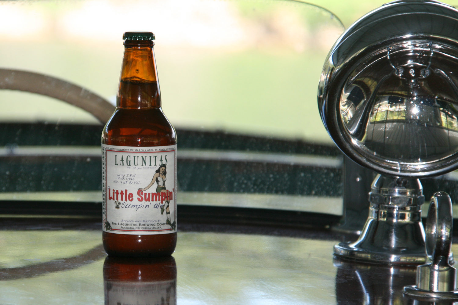 Drink A Little Sumpin' Sumpin' Ale for a great summer party beer.