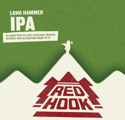 Long Hammer Summer IPA from Red Hook is an exceptional beer.