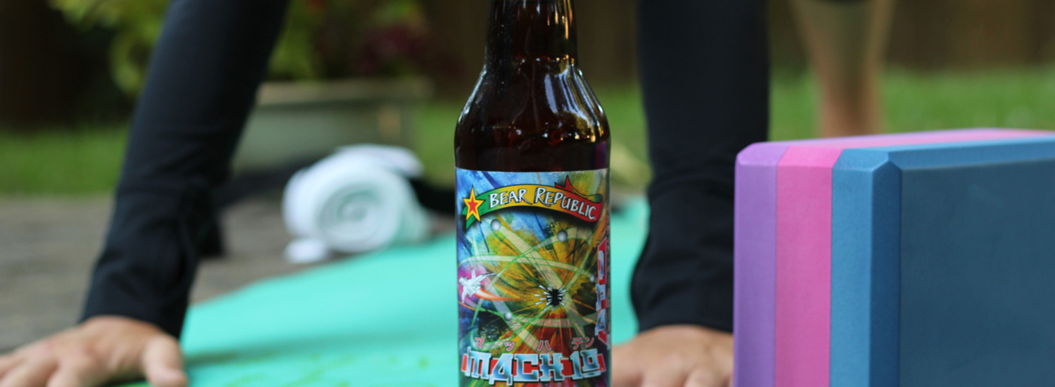 Mach 10 summer beer is the perfect evening ipa.