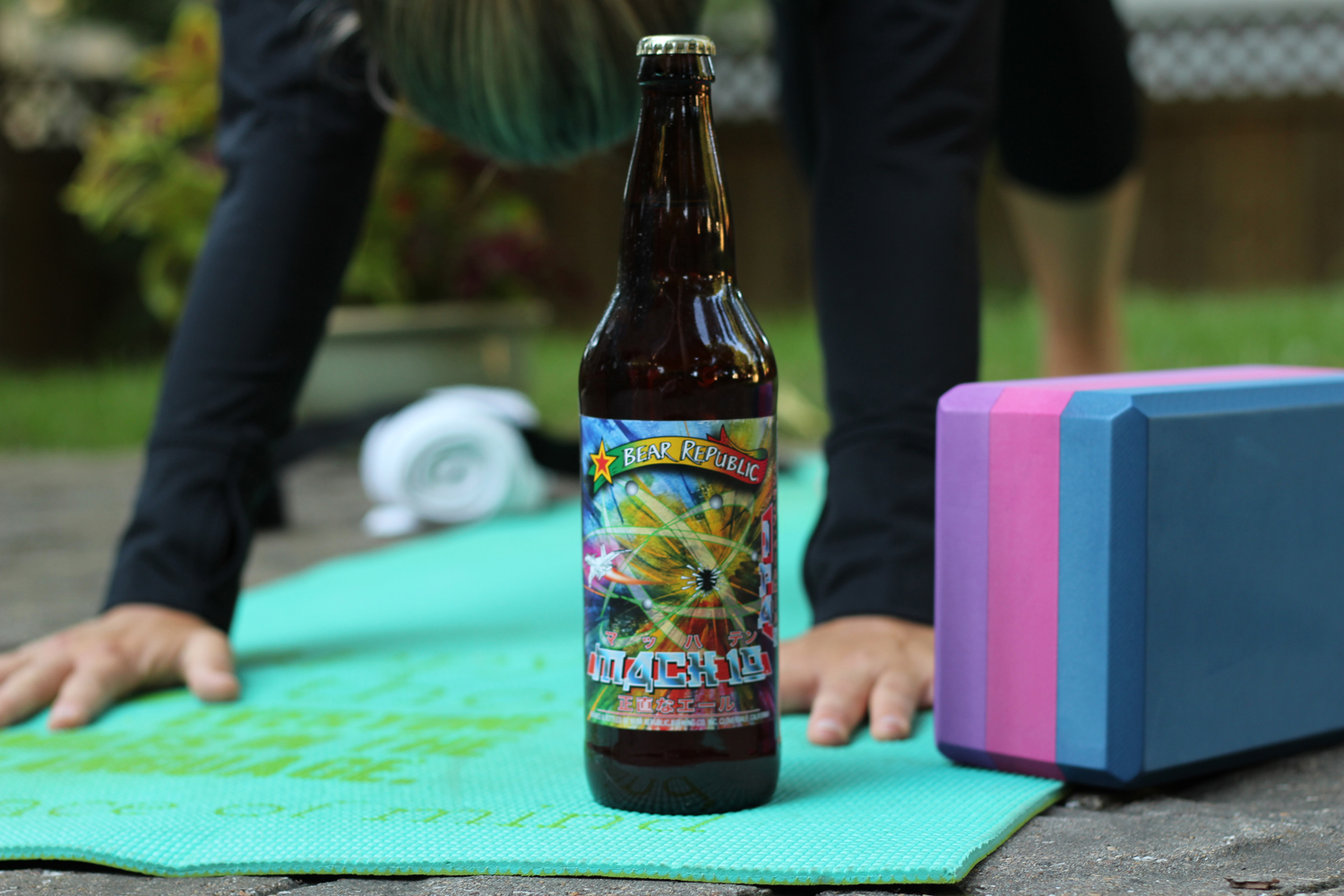 Mach 10 summer beer is the perfect evening double ipa.