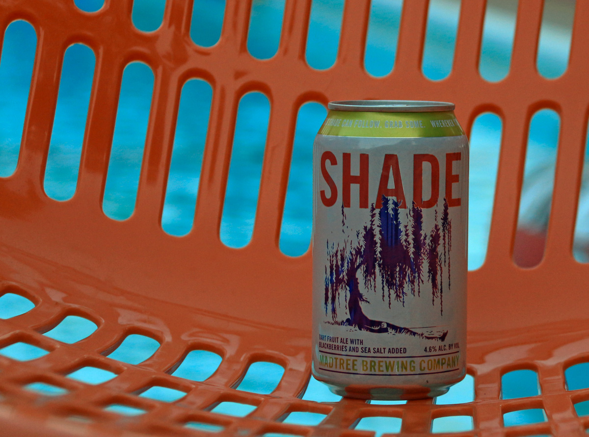 Pink beer Shade from Madtree is refreshing for summer.