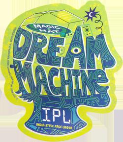 Magic Hat Dream Machine summer IPL brew this season.