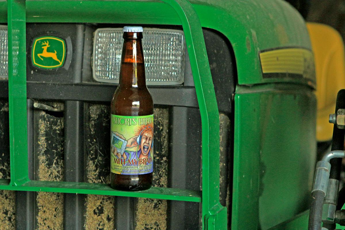 Melt My Brain experimental summer beer.