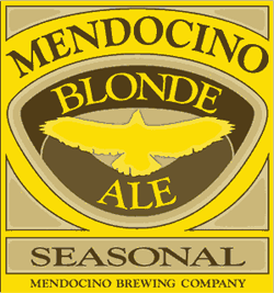 Mendocino Blonde summer boat beer is only available in season.