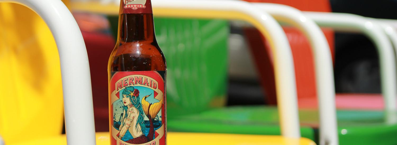 Mermaid Summer Pilsner is refreshing beer on a hot day.