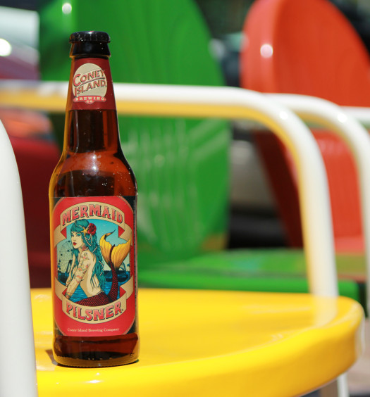 Mermaid Summer Pilsner is refreshing beer on a hot day.