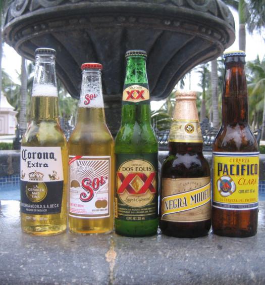 Complete Mexican Cinco de Mayo beer list.