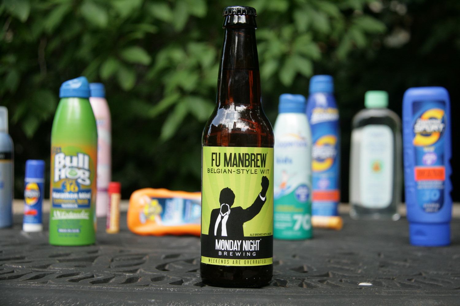 Try Fu Manbrew, a great seasonal craft summer night beer.
