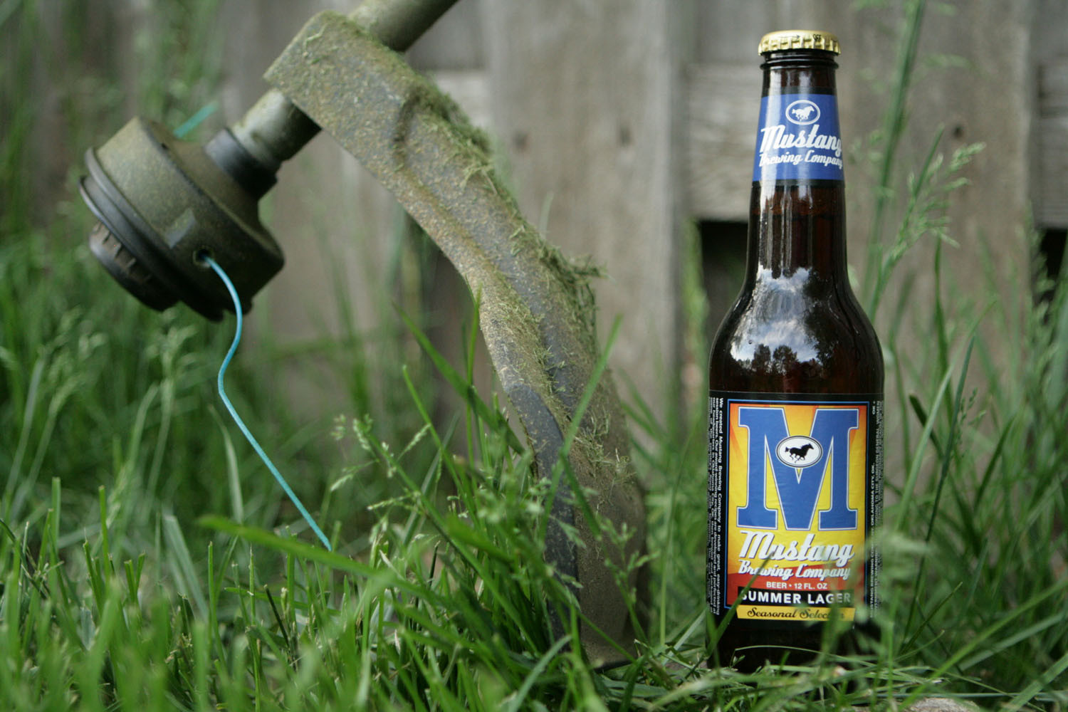 Mustang summer lager is a perfect beer style for the summer.