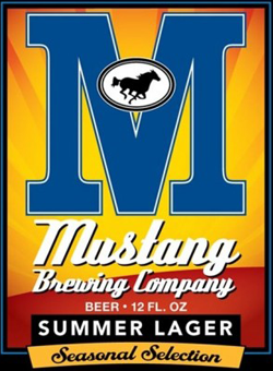Mustang Summer Lager is a great beer for the season.