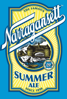Narragansett Summer Ale beer is perfect for hot days.