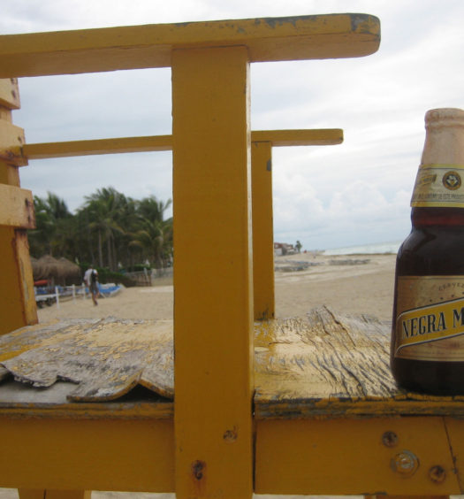 Enjoy Negra Modelo on the beaches of Mexico.