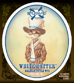 New Holland White Hatter summer seasonal white pale ale beer.
