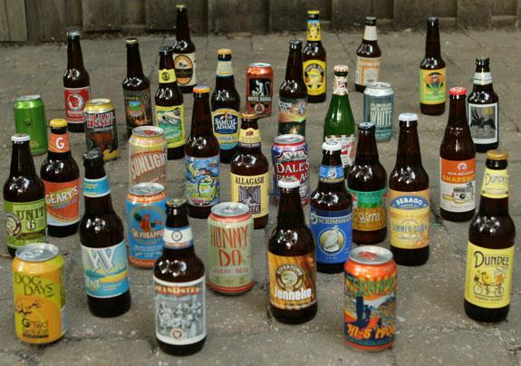 This year's new seasonal summer beers.