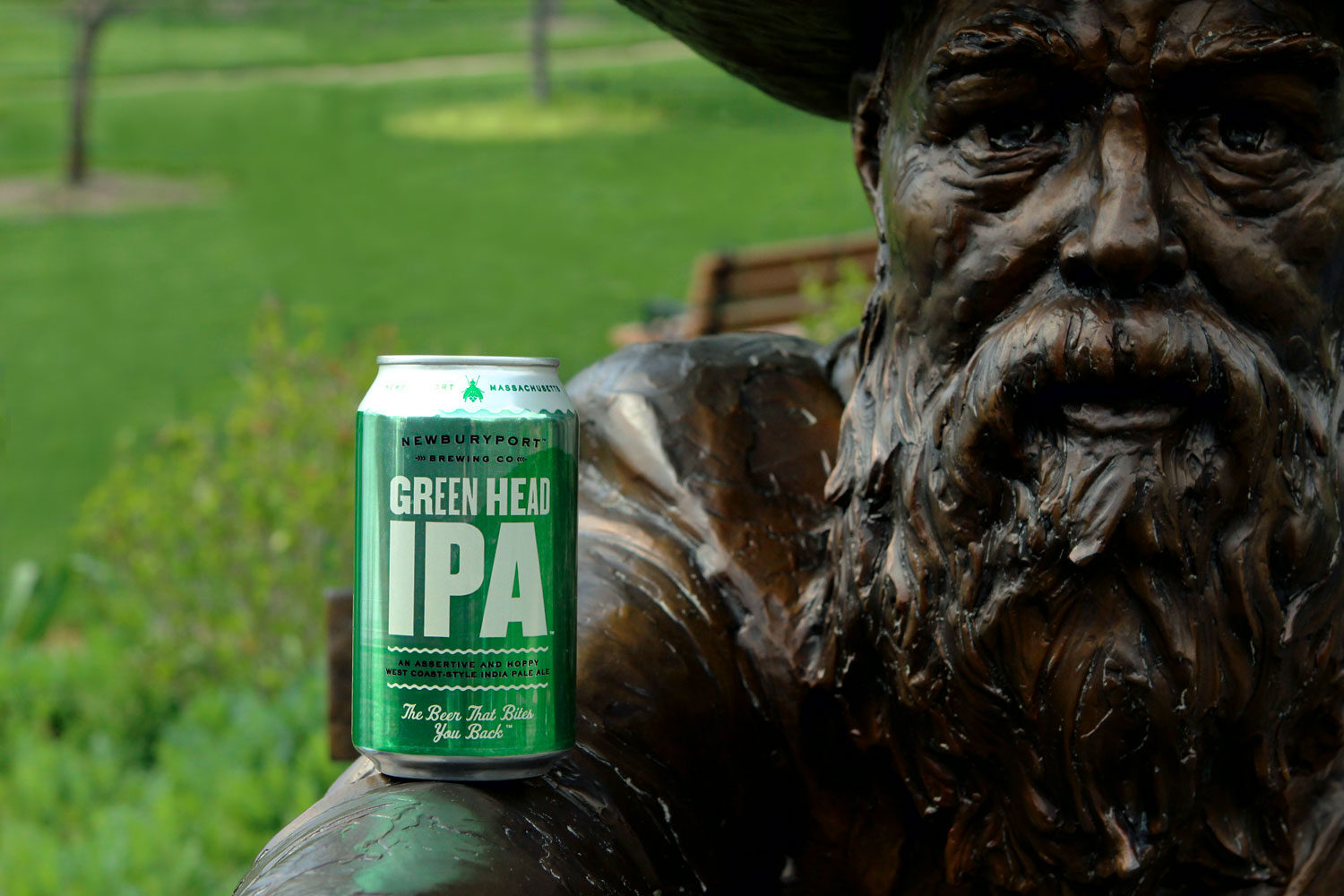 Newburyport Green Head west coast IPA.