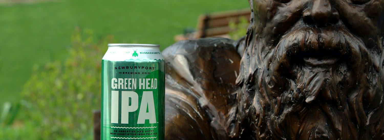 Newburyport Green Head west coast IPA.