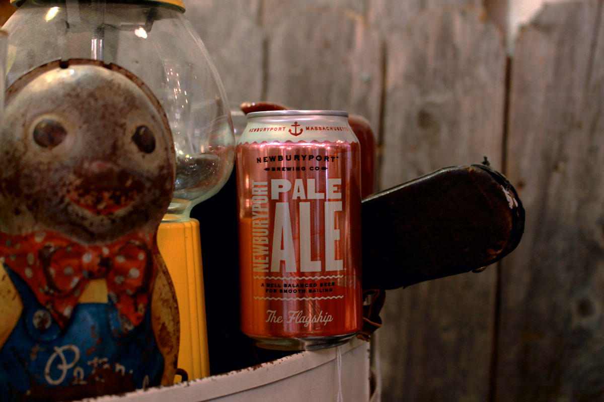 Newburyport summer pale ale is refreshing.
