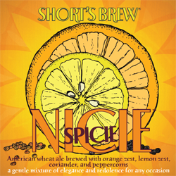Nicie Spicie has great refreshing qualities for a summer seasonal beer.