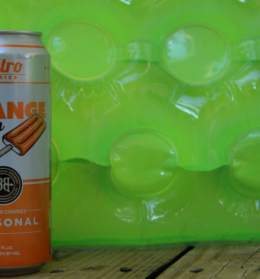 Nitro orange cream ale summer beer.