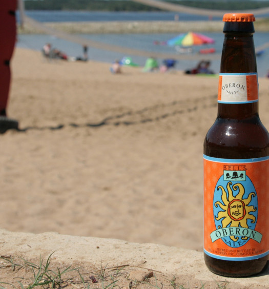 Bell's Oberon Ale summer beer from Michigan has a popular following.
