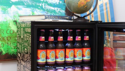 "NewAir ""Beers of the World"" Fridge, ft. NewAir AB-1200BC1"
