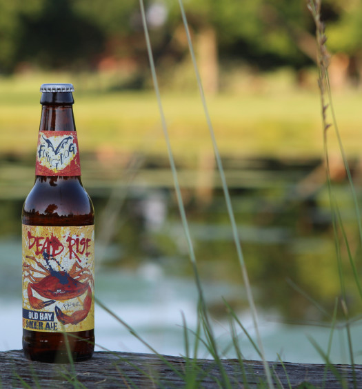 Enjoy Old Bay beer Dead Rise Summer Ale from Flying Dog Brewery.