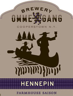 Ommegang Hennepin is a summer saison beer.