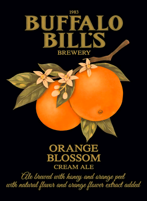 Buffalo Bill's Orange Blossom Cream Ale is a delicious summer beer.