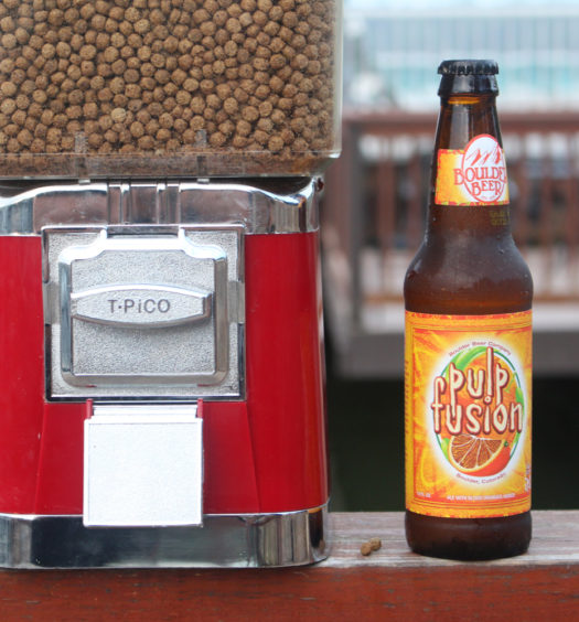 Boulder Pulp Fusion orange IPA is a great summer beer.