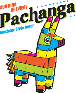 Pachanga Mexican-style lager from Sun King Brewery.